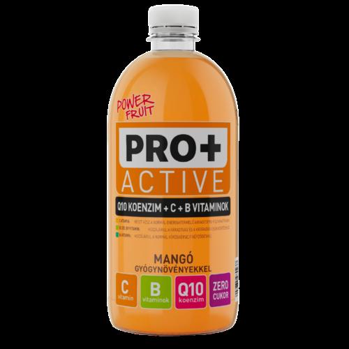 PRO + Active Q10, C- és B-vitamin - Mangó 0,75 L