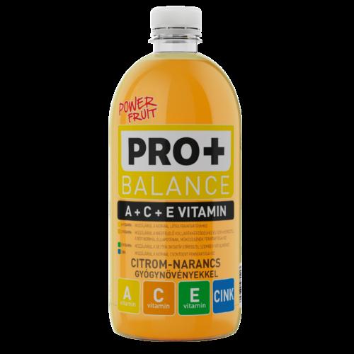 PRO + Balance A-, C- és E-vitamin - Citrom-narancs 0,75 L