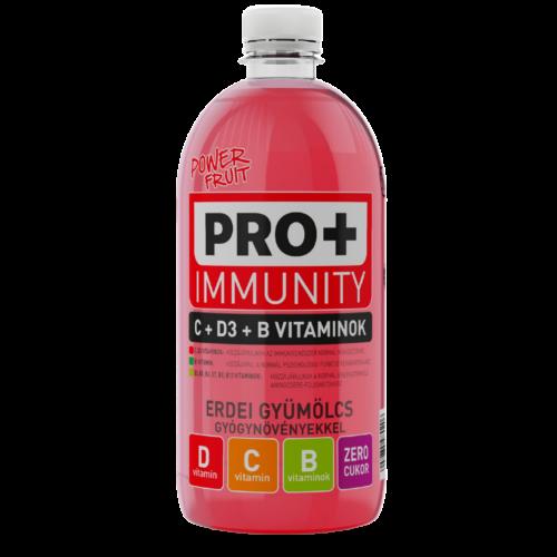 PRO + Imunnity D-, C- és B-vitamin - Erdei gyümölcs 0,75 L