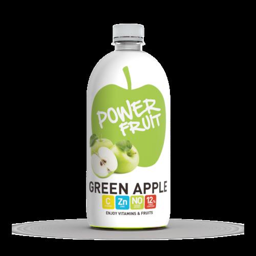 Power Fruit Zöldalma C-vitaminnal 0,75 L