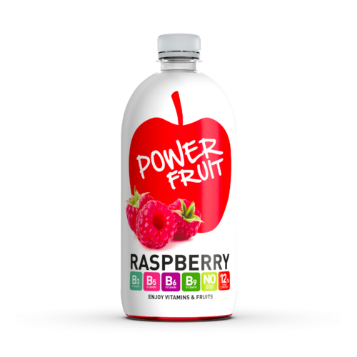 Power Fruit Málna Mg + B-vitaminnal 0,75 L