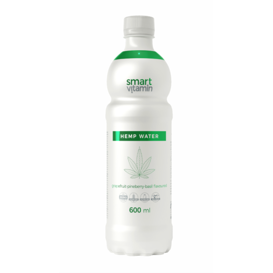 Smart Vitamin Hemp Water - Grapefruit-eper-bazsalikom ízekben